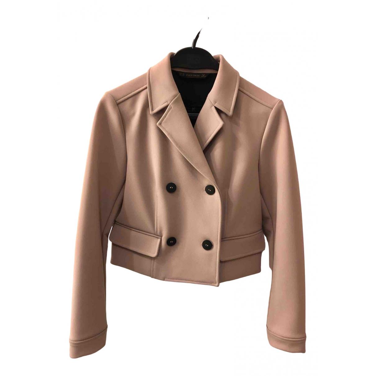 Zara \N Jacke in  Rosa Polyester