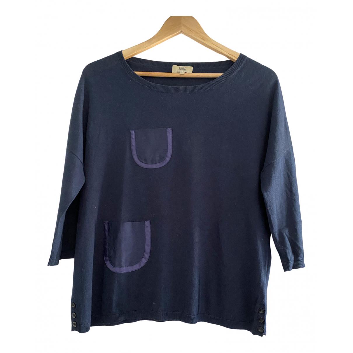 Gerard Darel \N Pullover in  Blau Seide