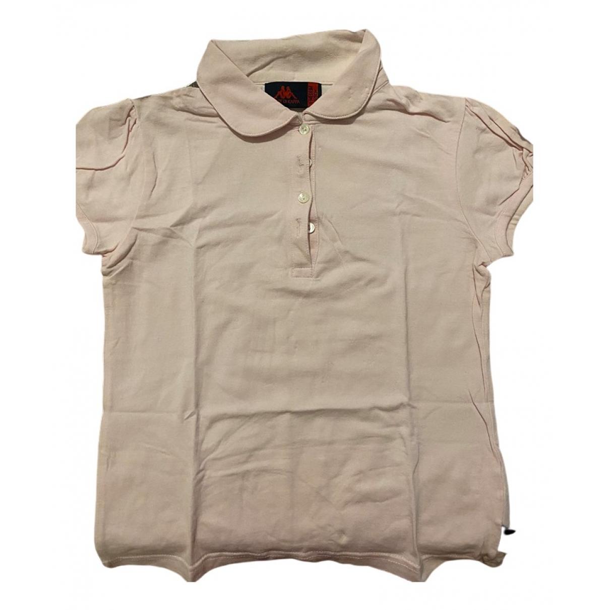 Kappa - Top   pour enfant en coton - rose