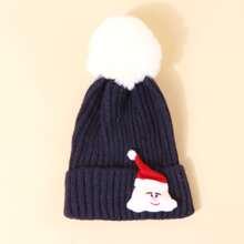 Gorro con diseño de Papa Noel de Navidad