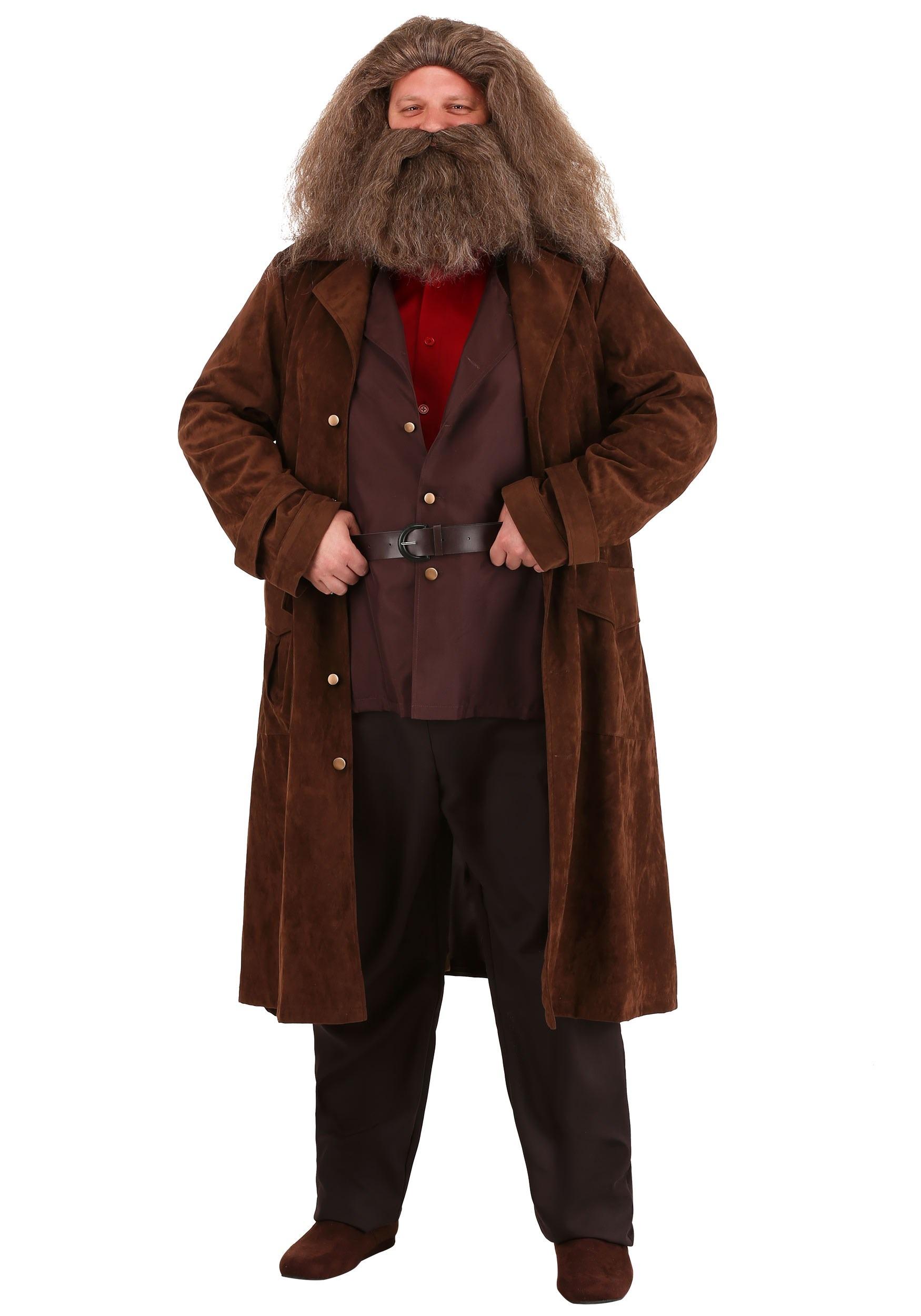 Plus Size-Deluxe Harry Potter Hagrid Costume