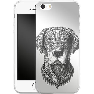 Apple iPhone 5 Silikon Handyhuelle - Labrador von BIOWORKZ