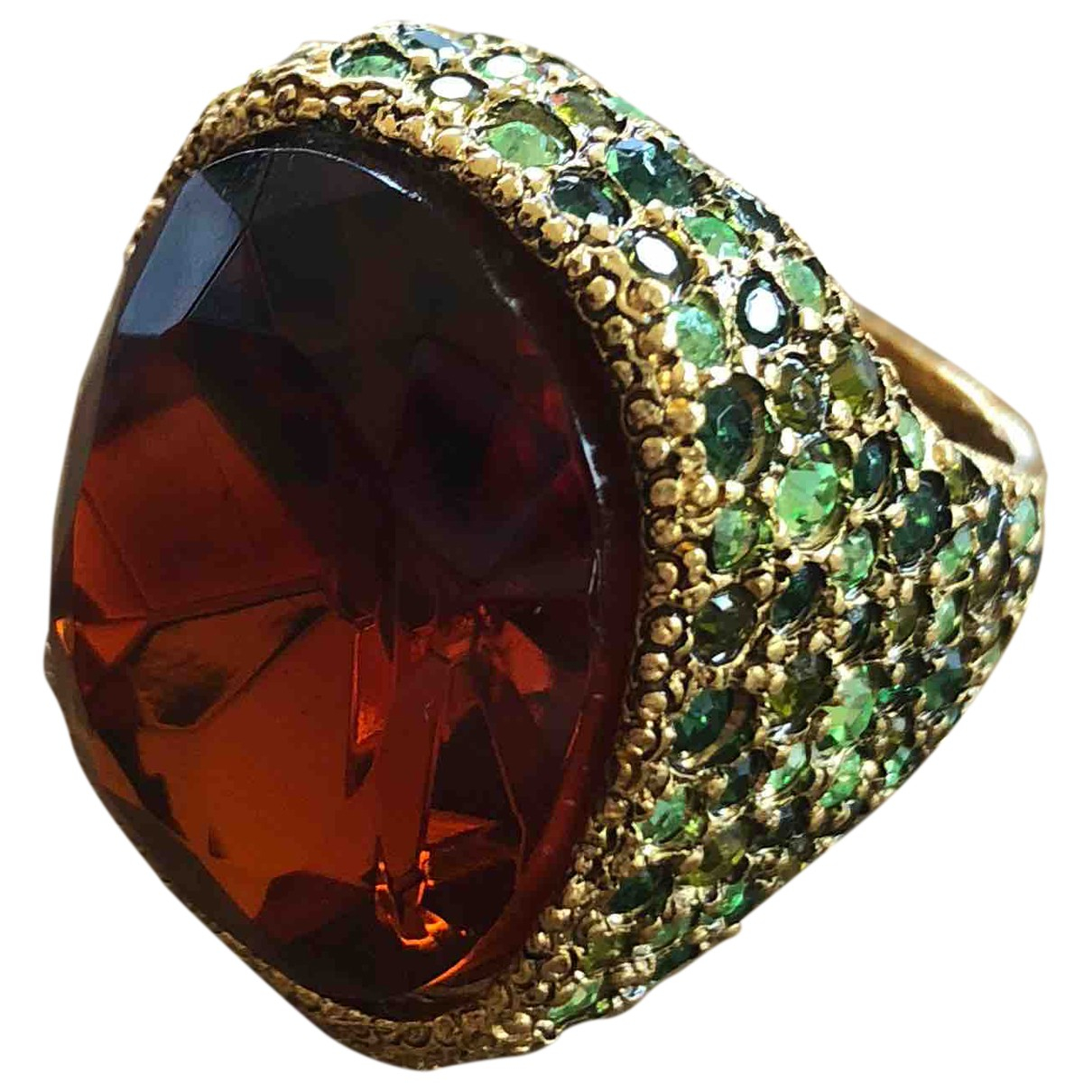 Kenneth Jay Lane \N Ring in  Gold Metall