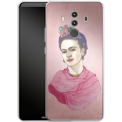 Huawei Mate 10 Pro Silikon Handyhuelle - Frida von Barruf