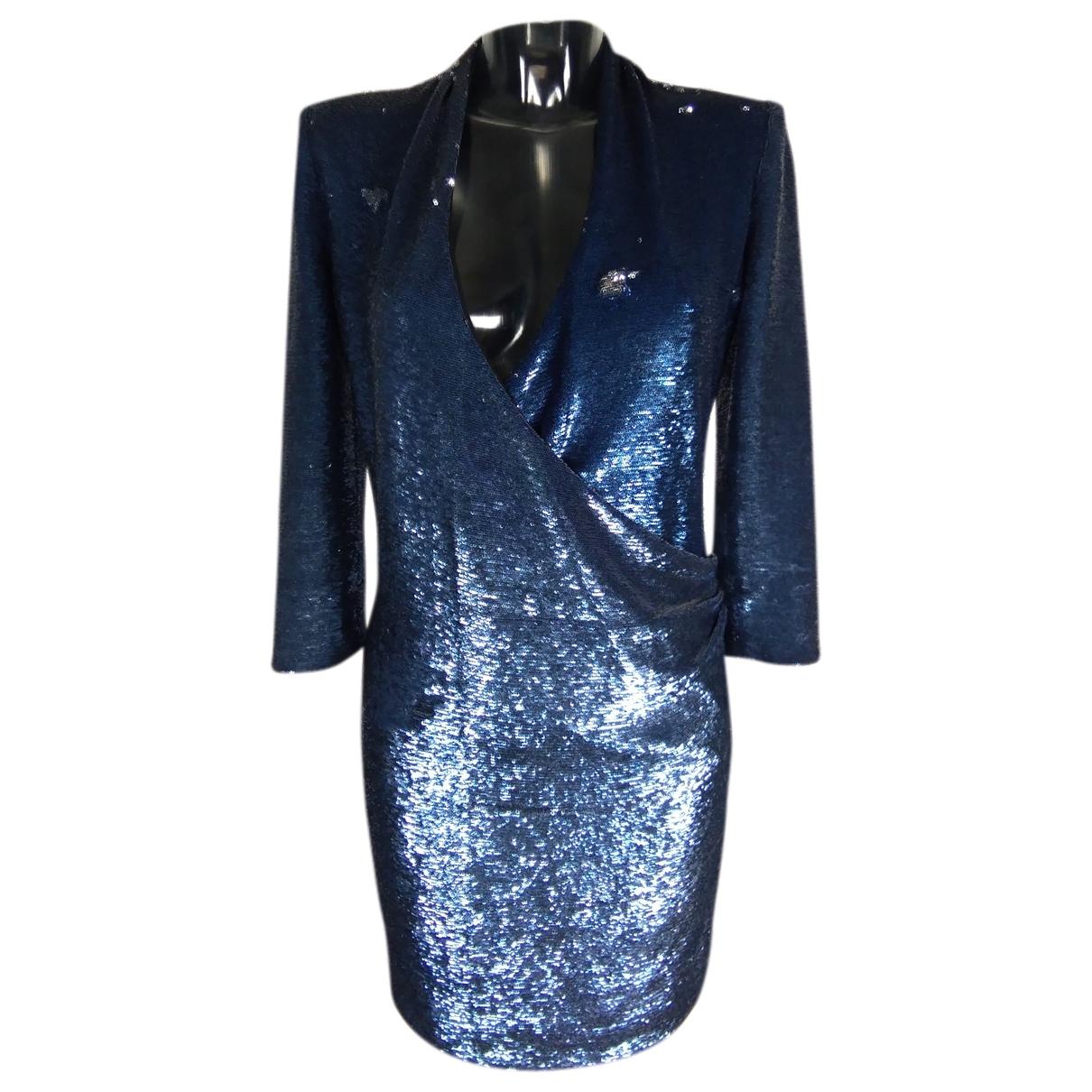 Iro - Robe   pour femme en a paillettes - bleu