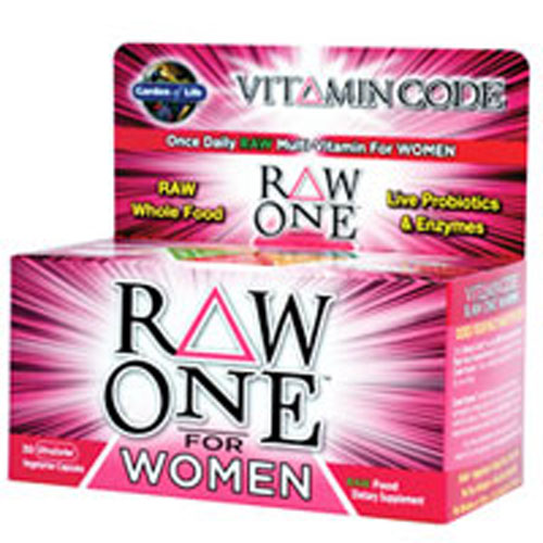 Vitamin Code RAW One for Women 30 caps by Garden of Life