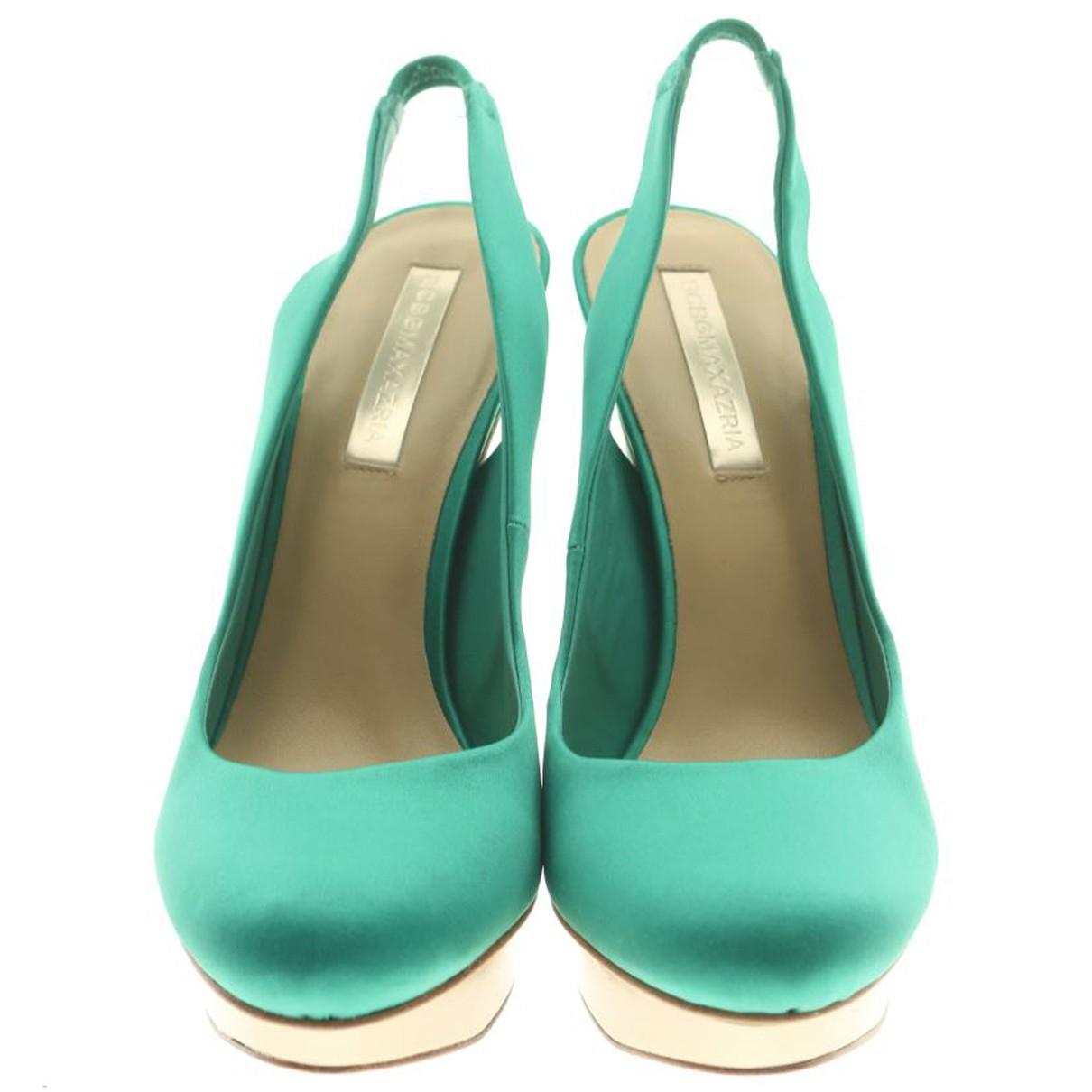 Bcbg Max Azria N Green Heels for Women 5 UK