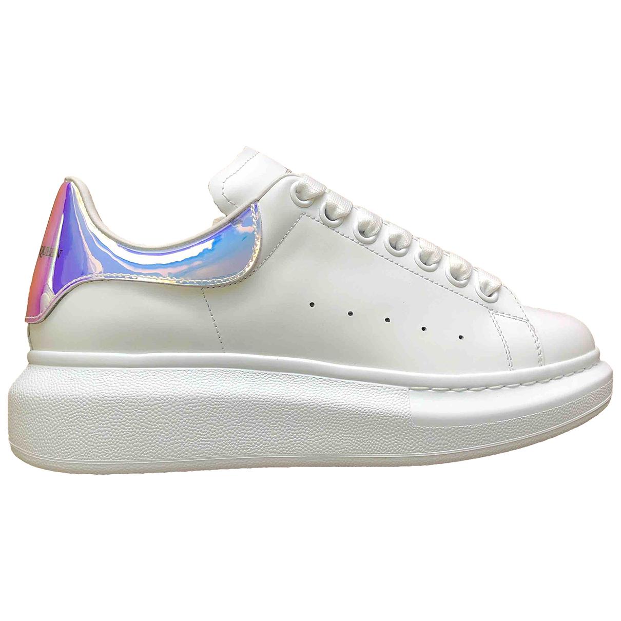 Alexander Mcqueen Oversize Sneakers in Leder