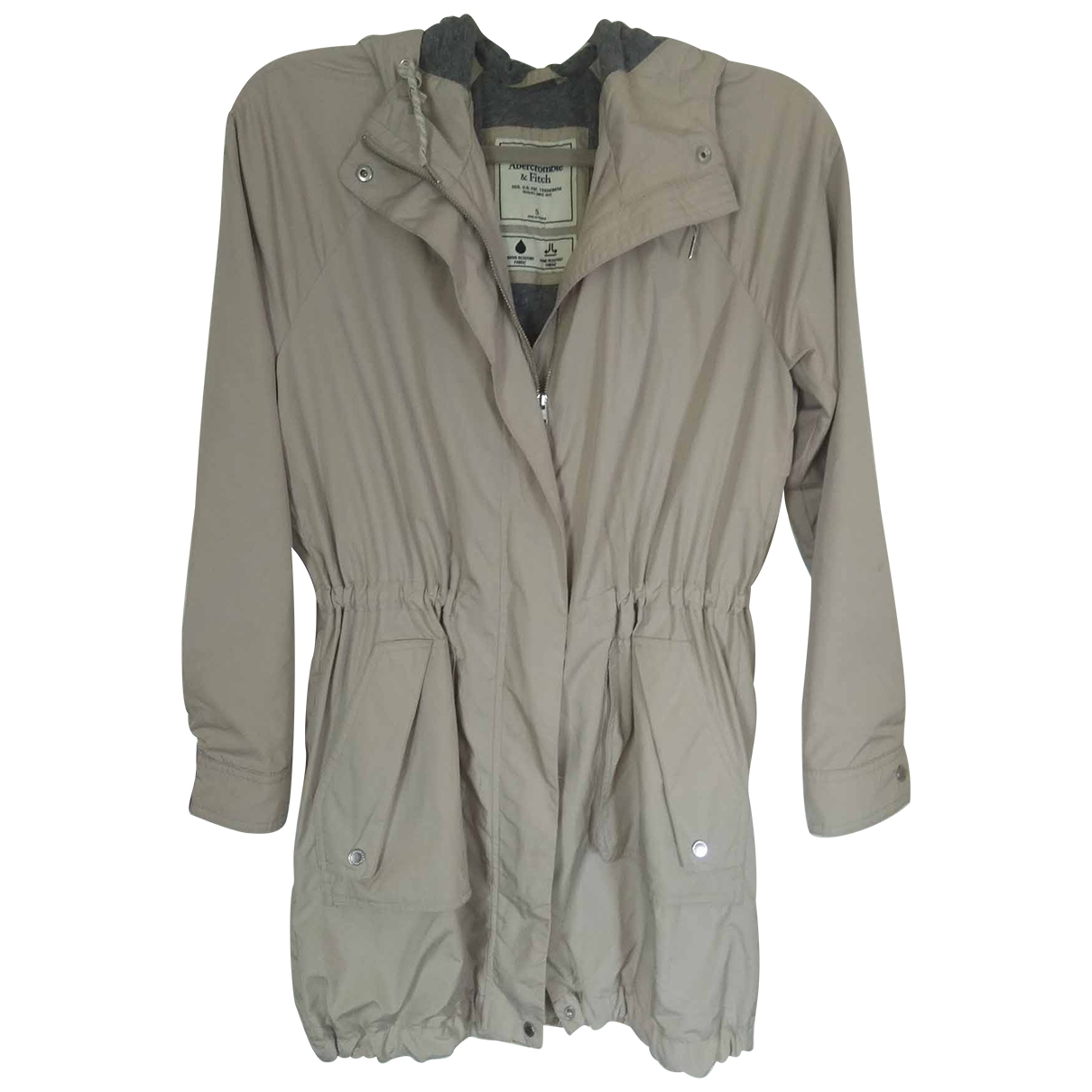Abercrombie & Fitch \N Jacke in  Beige Synthetik