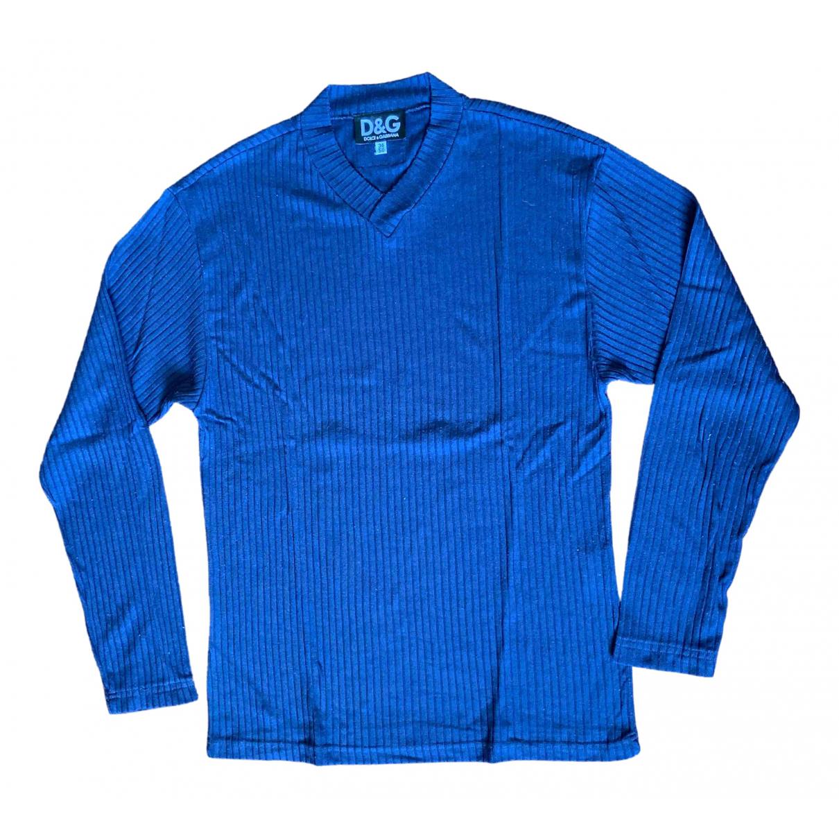 D&g - Tee shirts   pour homme en autre - bleu