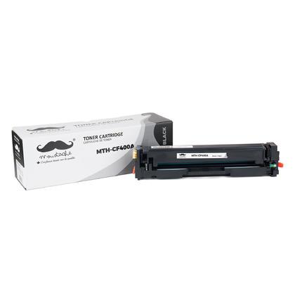 Compatible HP 201A CF400A cartouche de toner noire - Moustache®