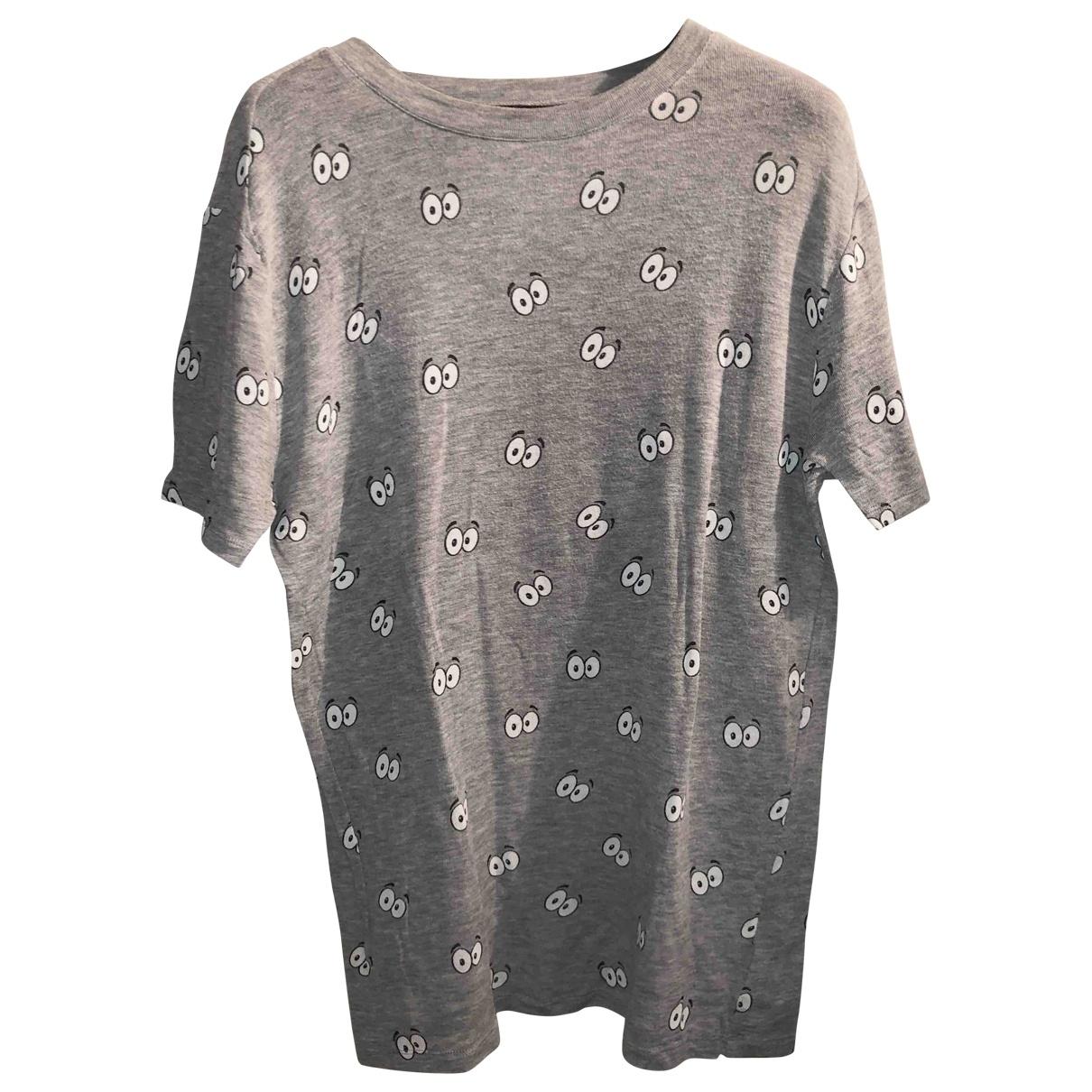 Zoe Karssen - Top   pour femme en coton - gris