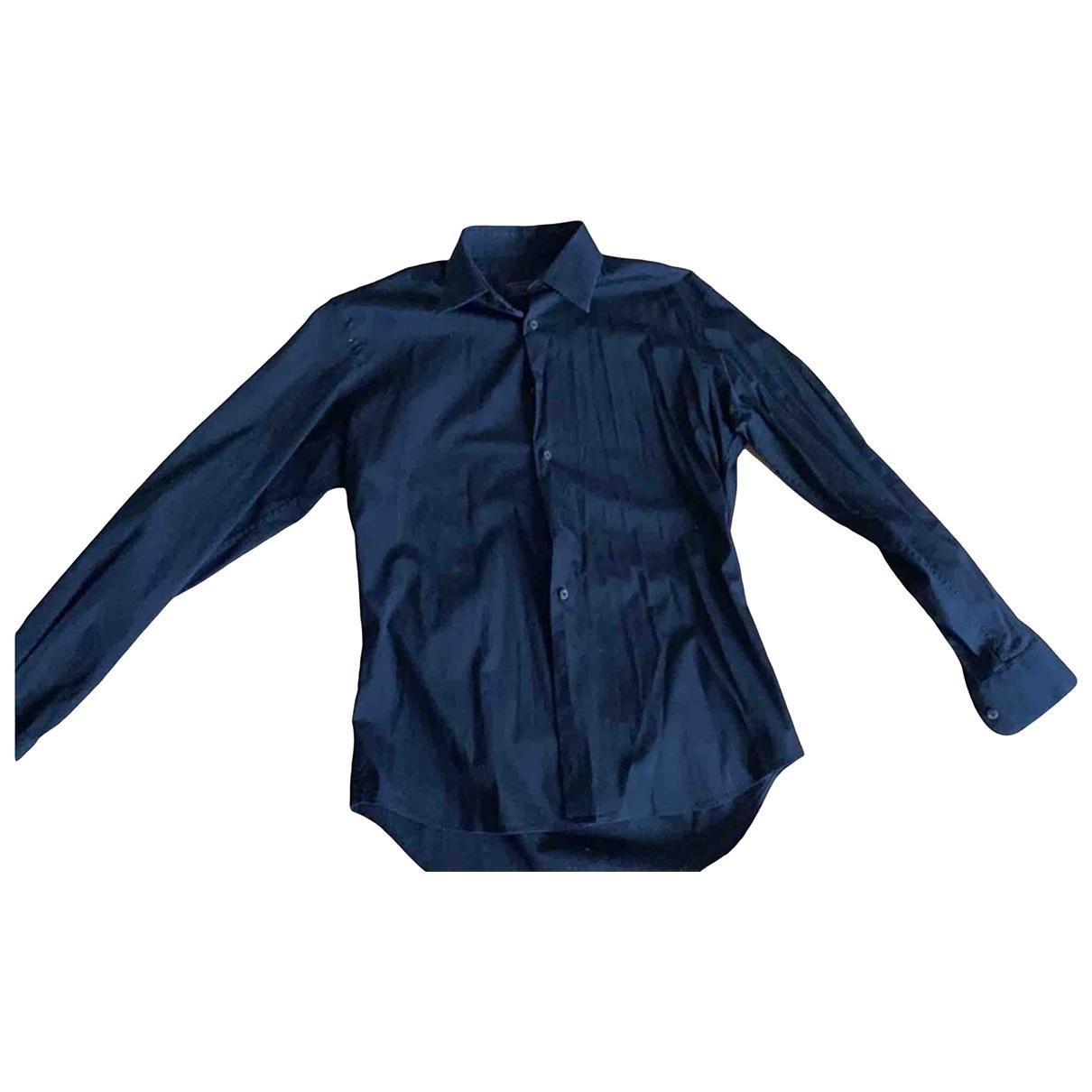 Prada - Chemises   pour homme en coton - noir