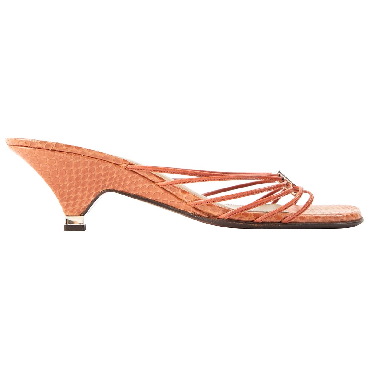 Sandalias romanas de Piton Louis Vuitton