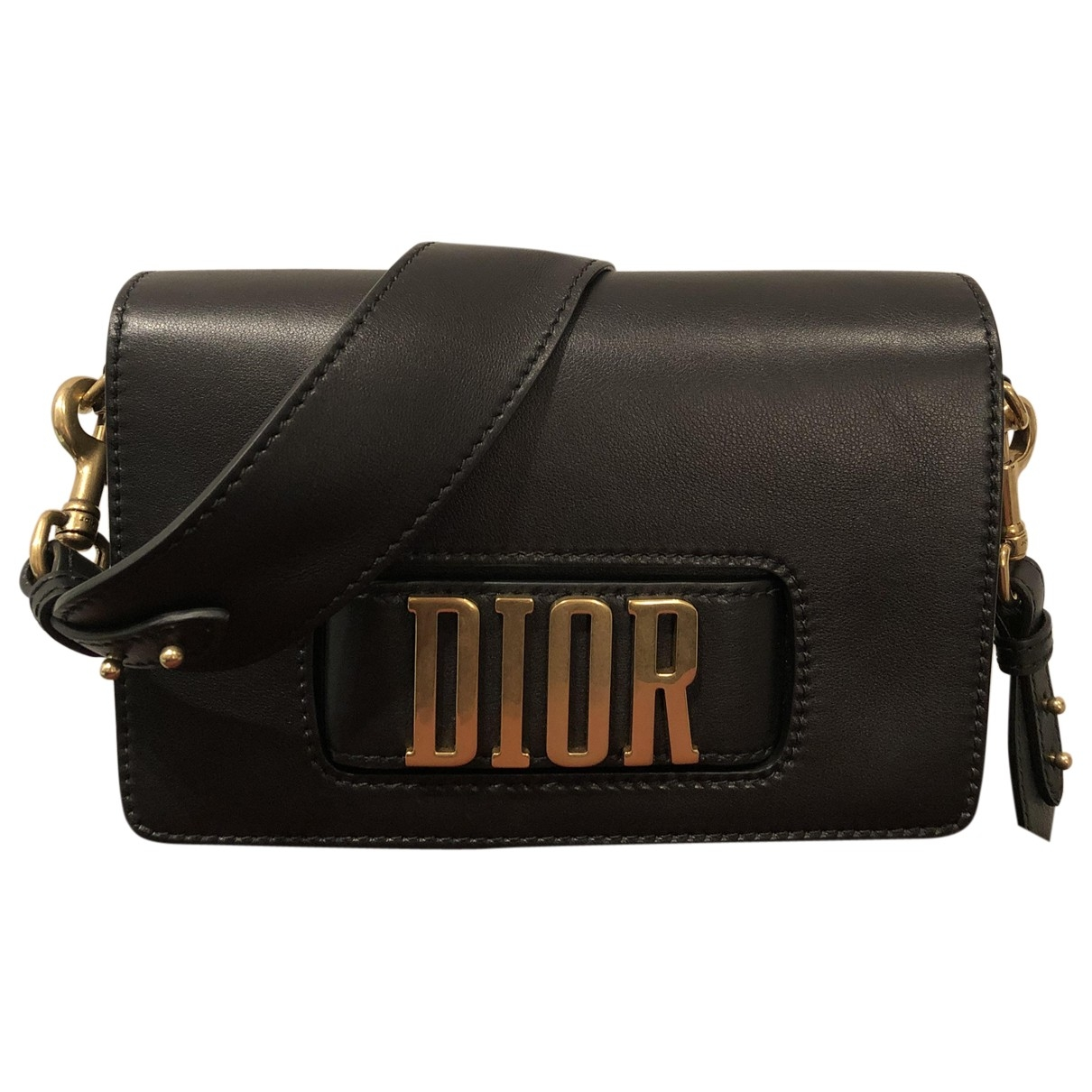 Dior Dio(r)evolution Black Leather handbag for Women \N
