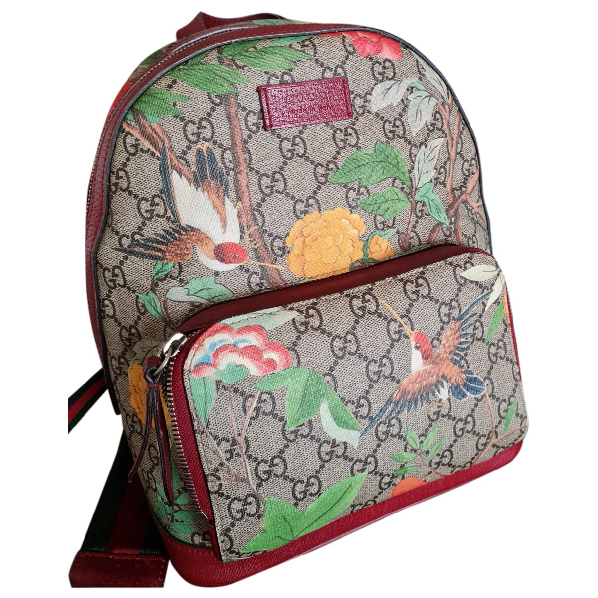 Gucci N Multicolour Cloth backpack for Women N