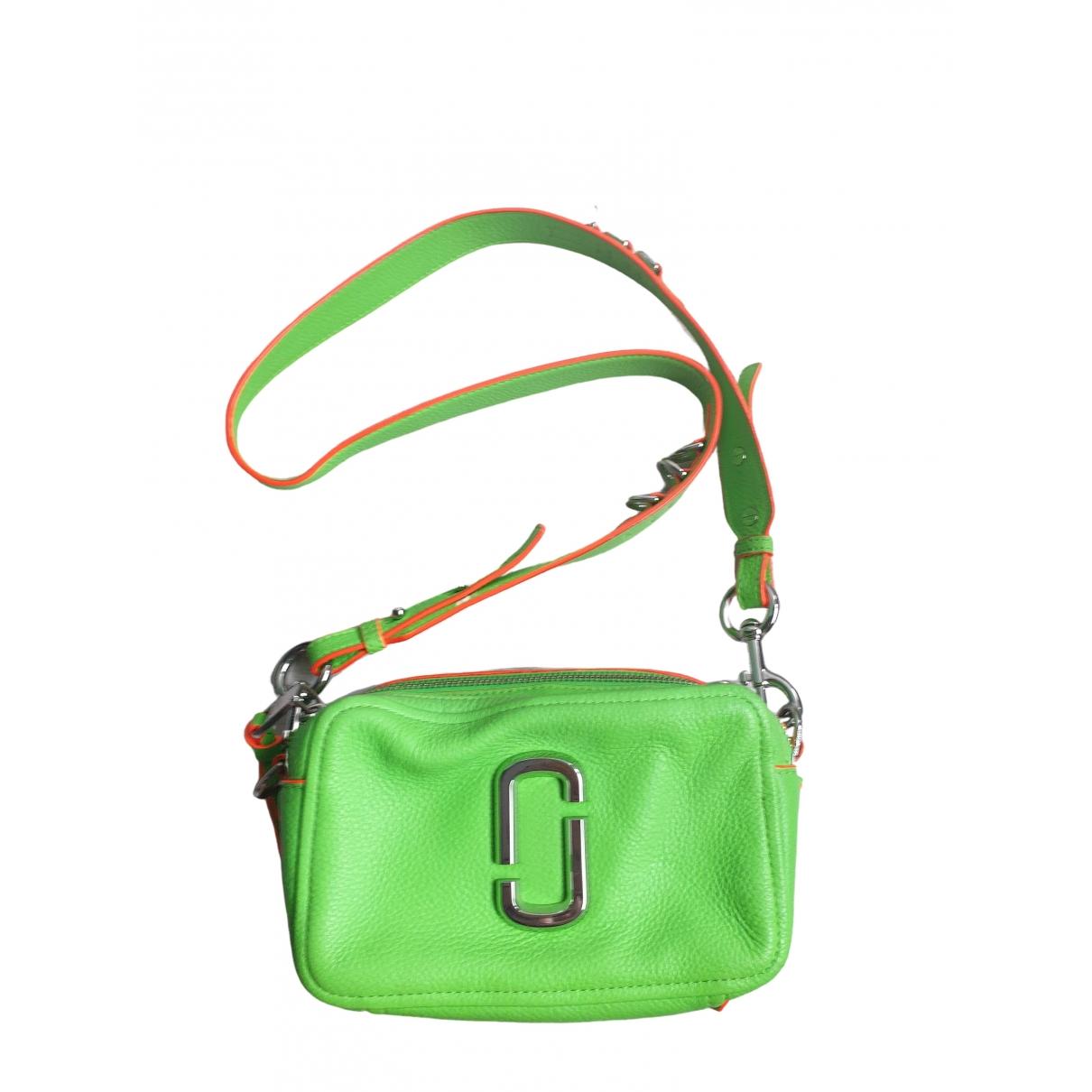 Marc Jacobs \N Green Leather handbag for Women \N
