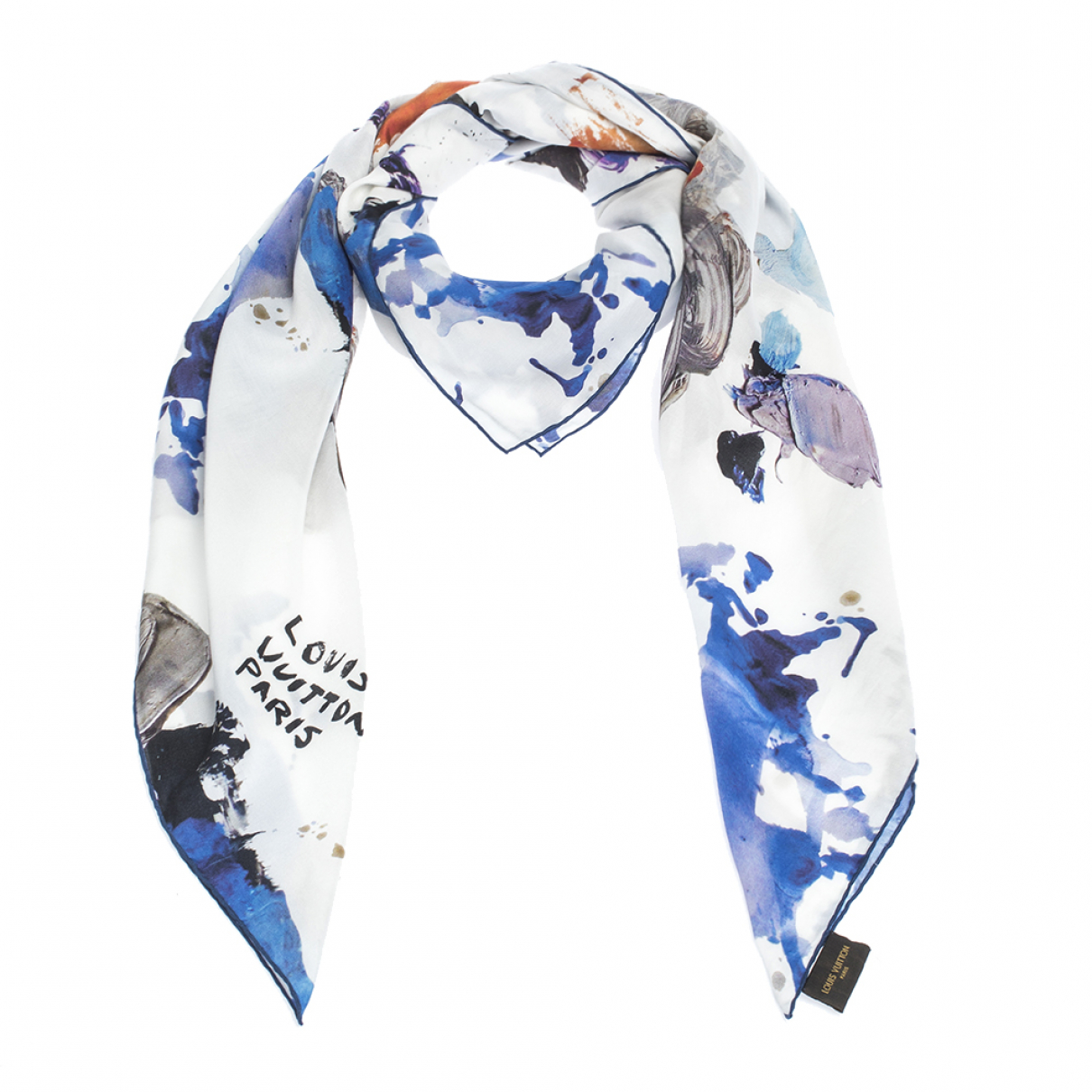 Louis Vuitton \N White Cotton scarf for Women \N