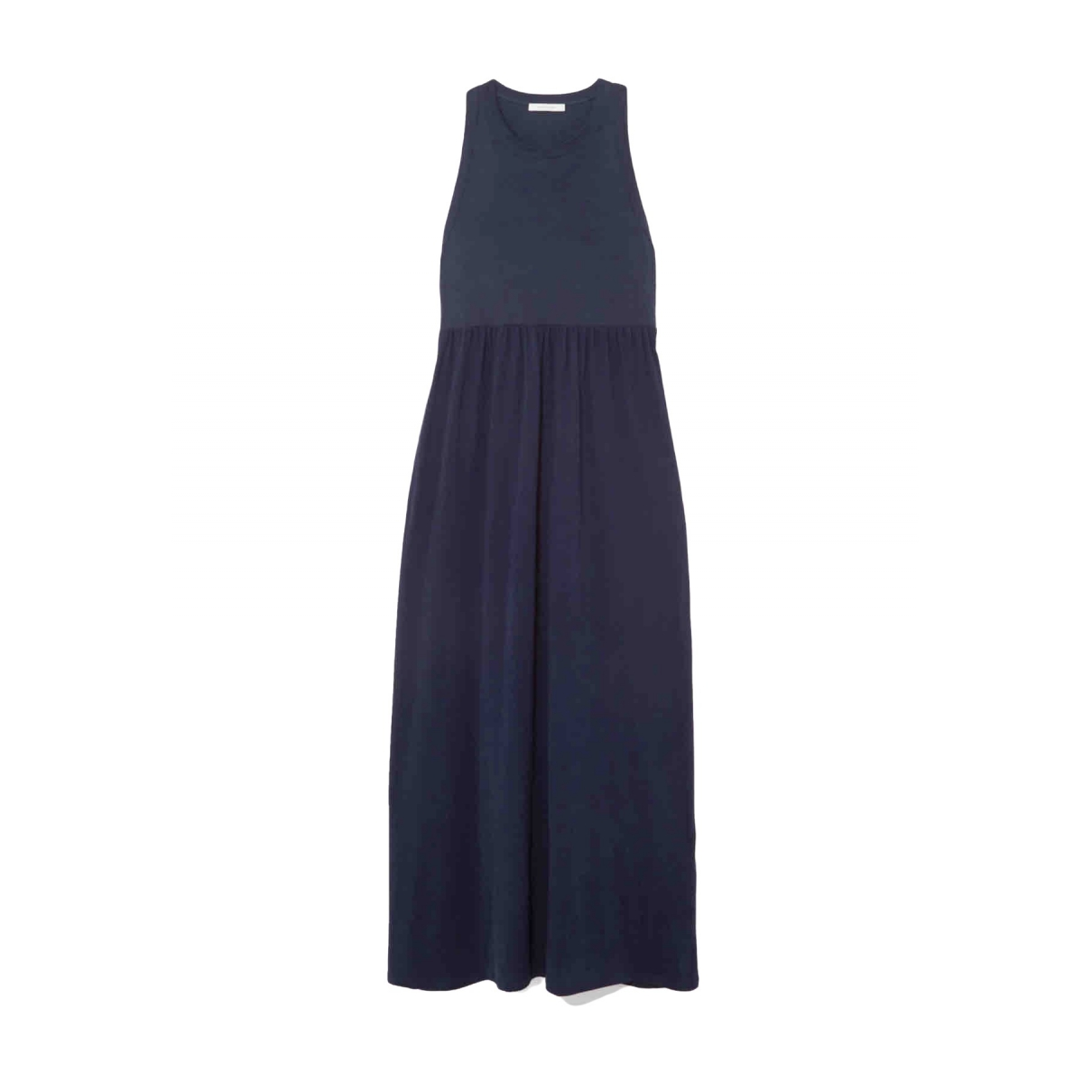 - Robe   pour femme en coton - bleu