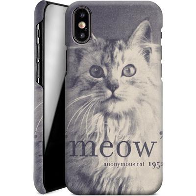 Apple iPhone X Smartphone Huelle - Famous Quote Cat von Florent Bodart