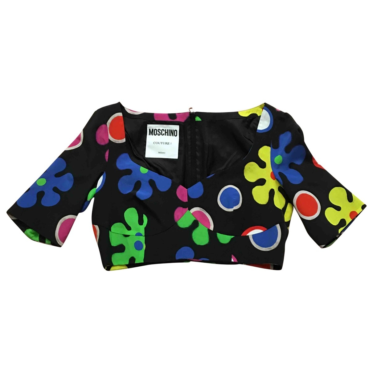 Moschino \N Multicolour Silk  top for Women 42 IT