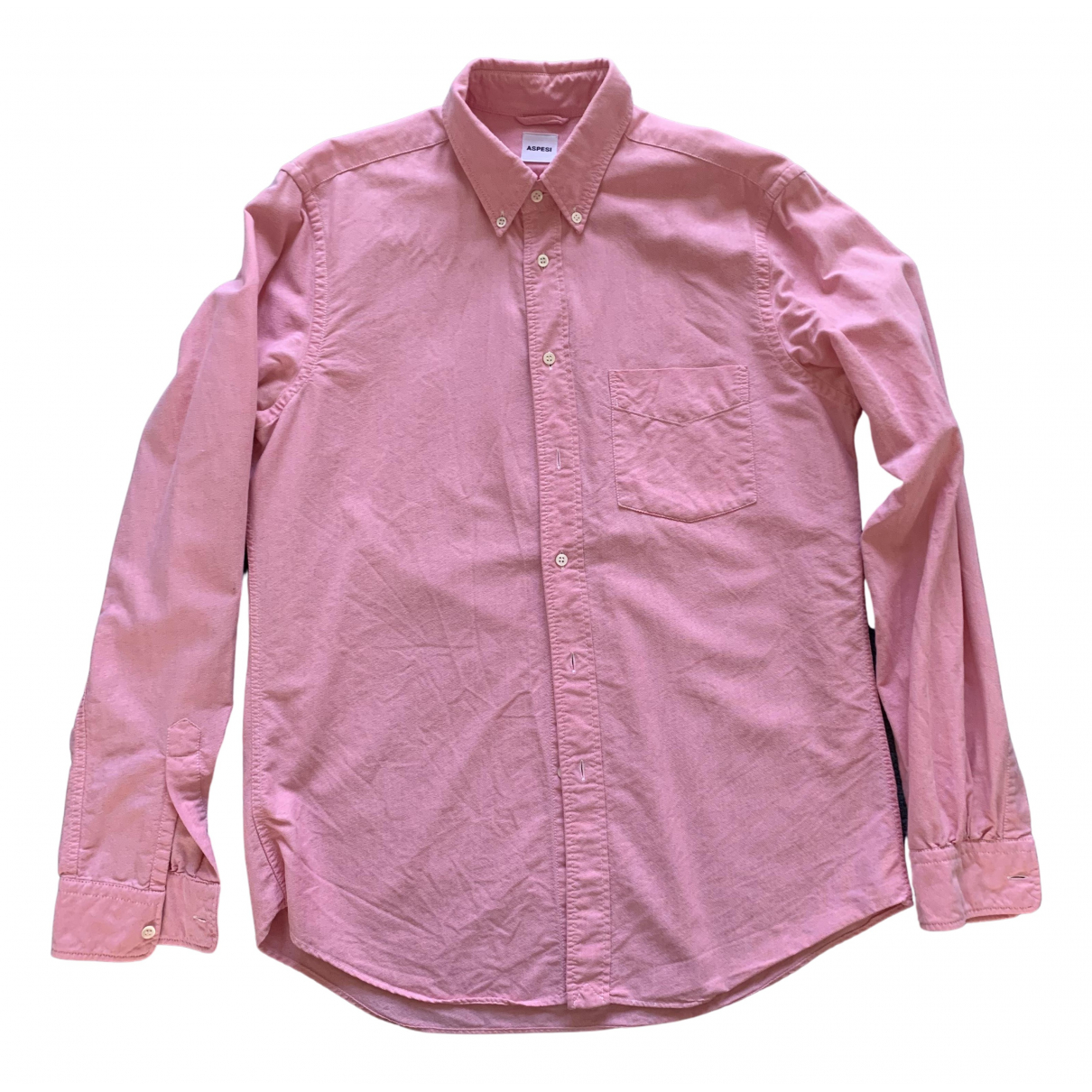 Aspesi \N Hemden in  Rosa Baumwolle