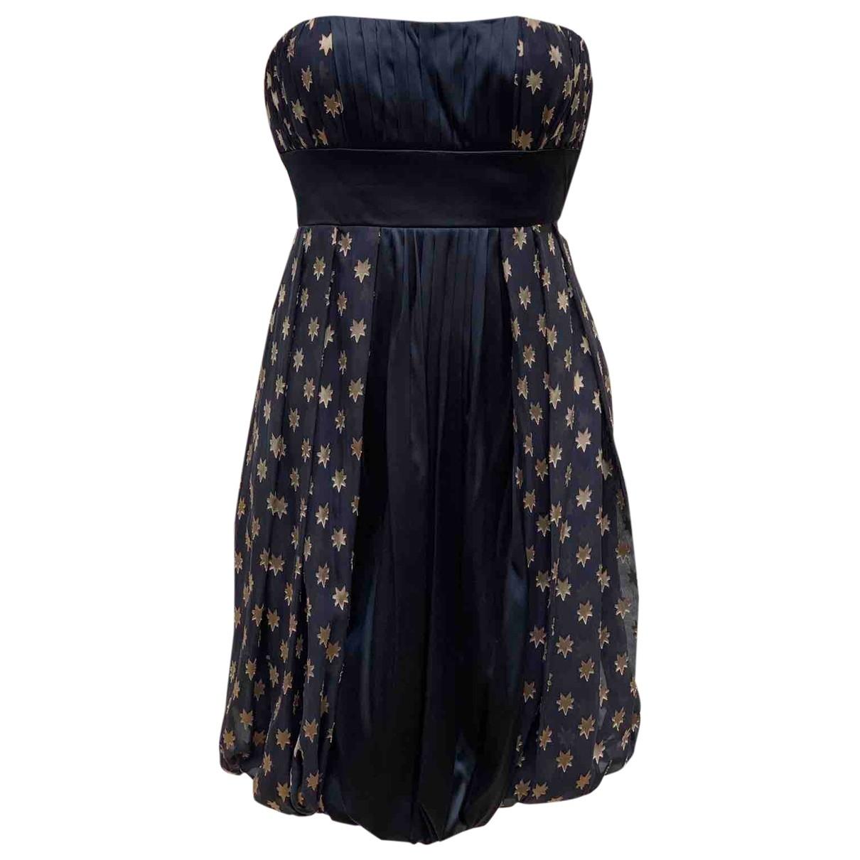 Diane Von Furstenberg \N Black Silk dress for Women 2 US