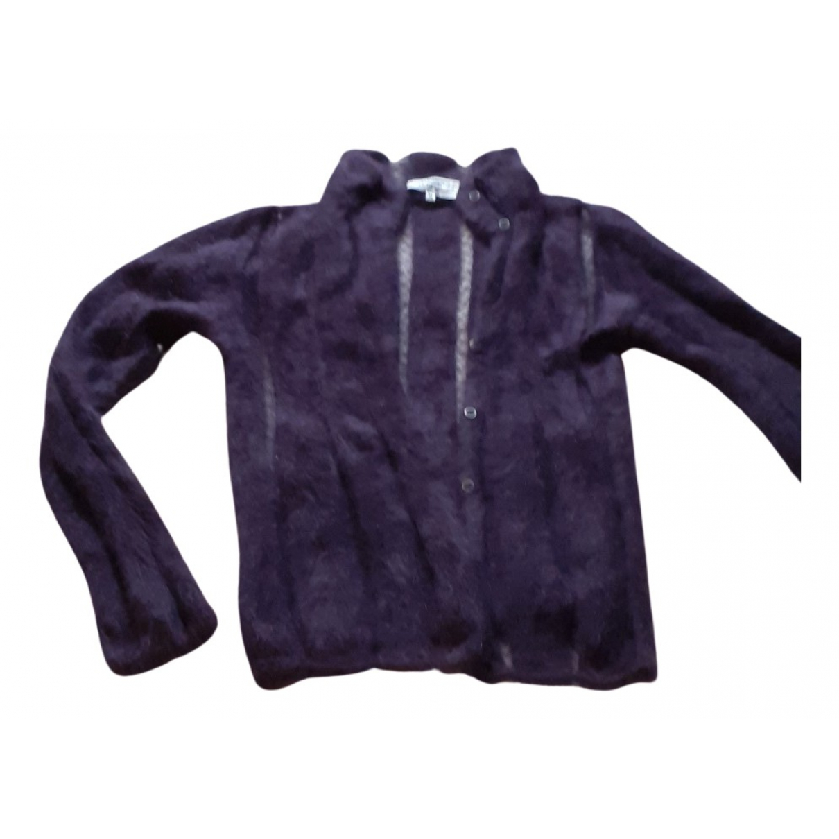 Yves Saint Laurent \N Pullover in  Lila Wolle