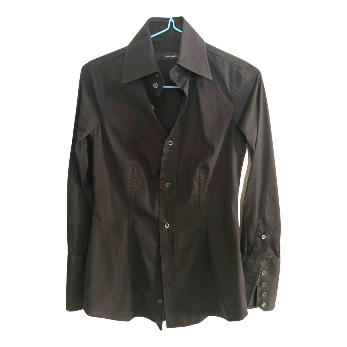 Dsquared2 - Top   pour femme en coton - noir