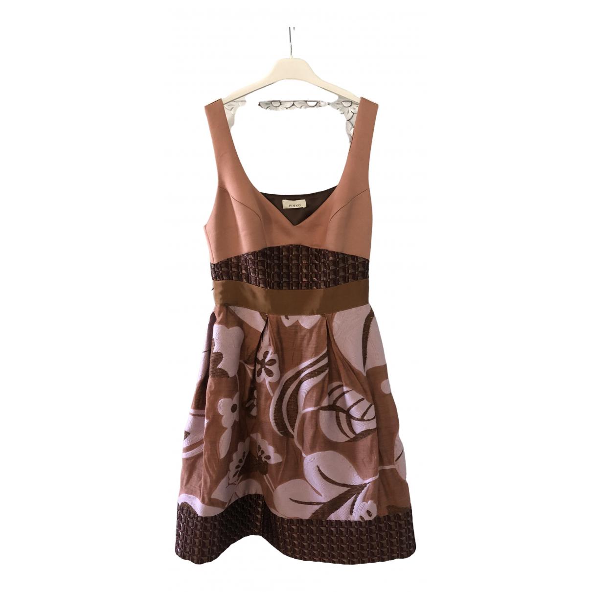 Pinko - Robe   pour femme en laine - multicolore