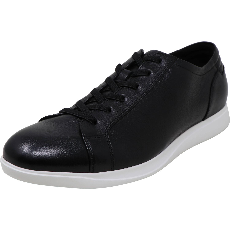 Kenneth Cole Men's Rocketpod Black Ankle-High Leather Boating - 9.5M