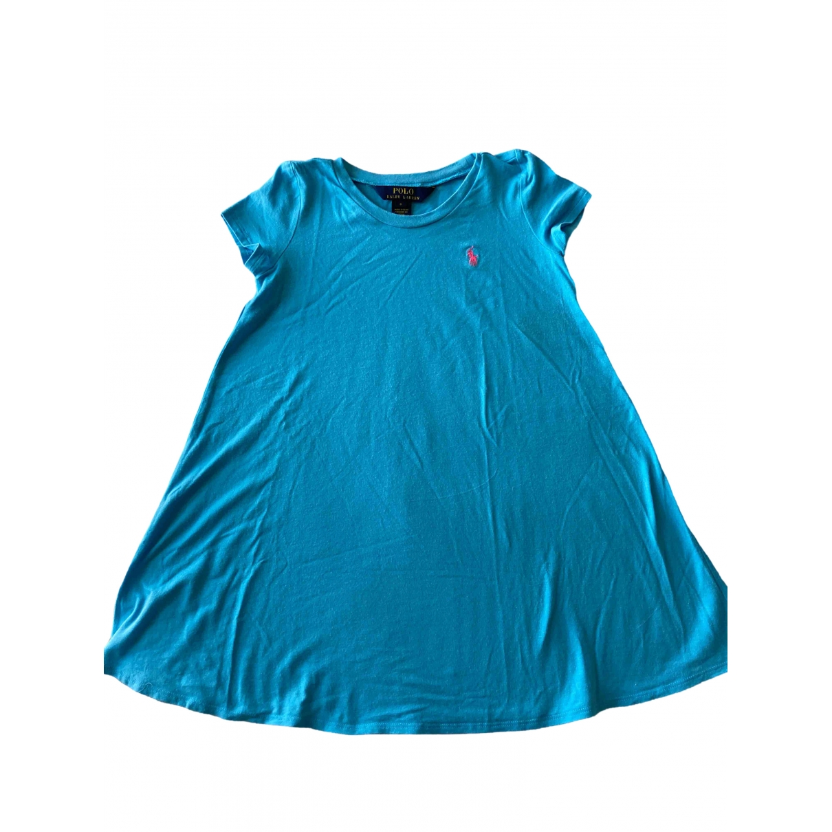 Polo Ralph Lauren \N Turquoise Cotton dress for Kids 6 years - until 45 inches UK