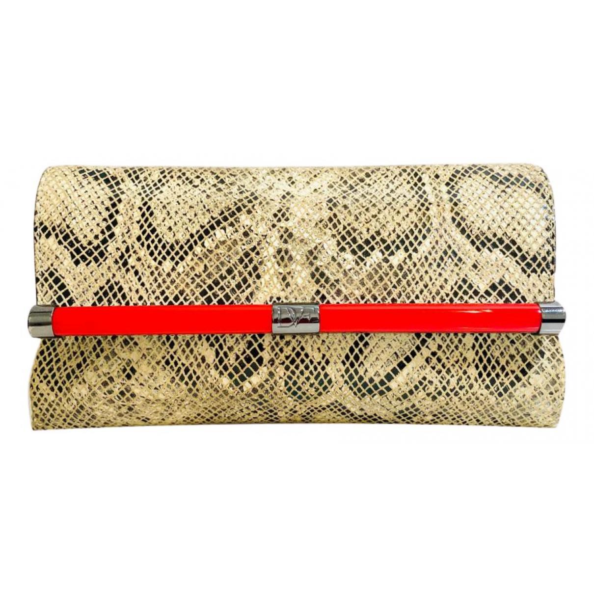 Diane Von Furstenberg N Multicolour Leather Clutch bag for Women N
