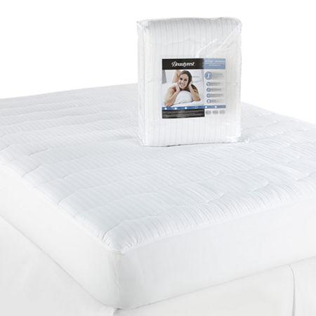 Beautyrest Tri-Cool Advanced Mattress Pad, One Size , White