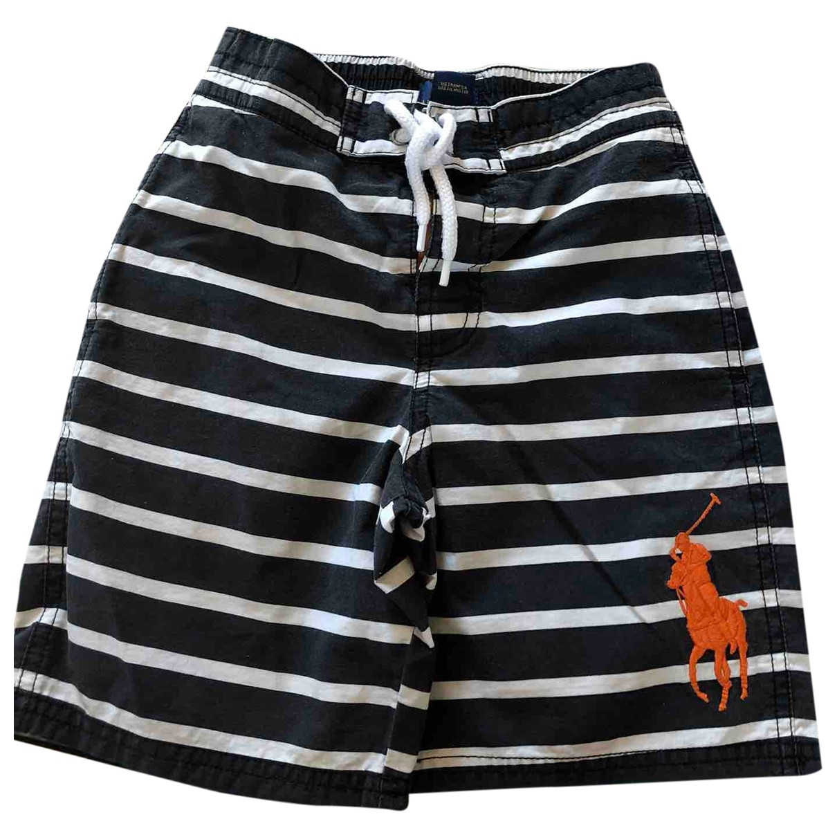 Polo Ralph Lauren - Short   pour enfant en coton - marine