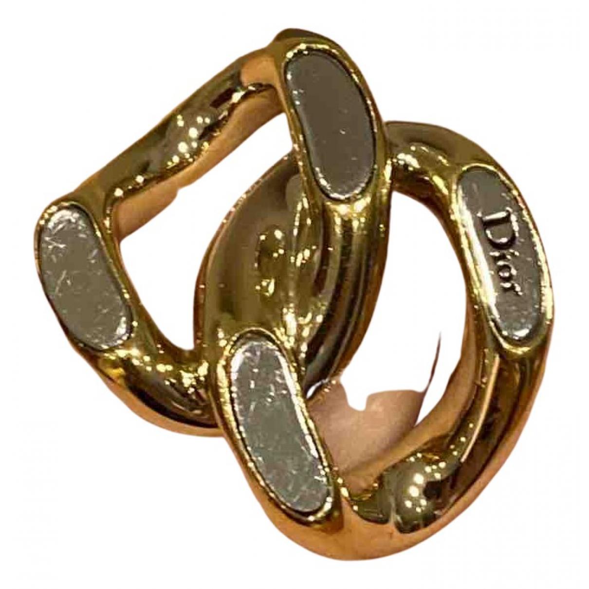 Dior - Bague   pour femme en metal - dore