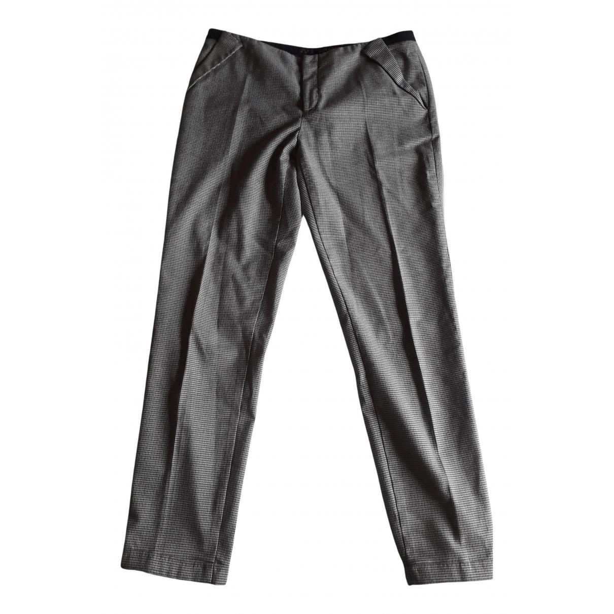 Zara N Multicolour Trousers for Women 4 US