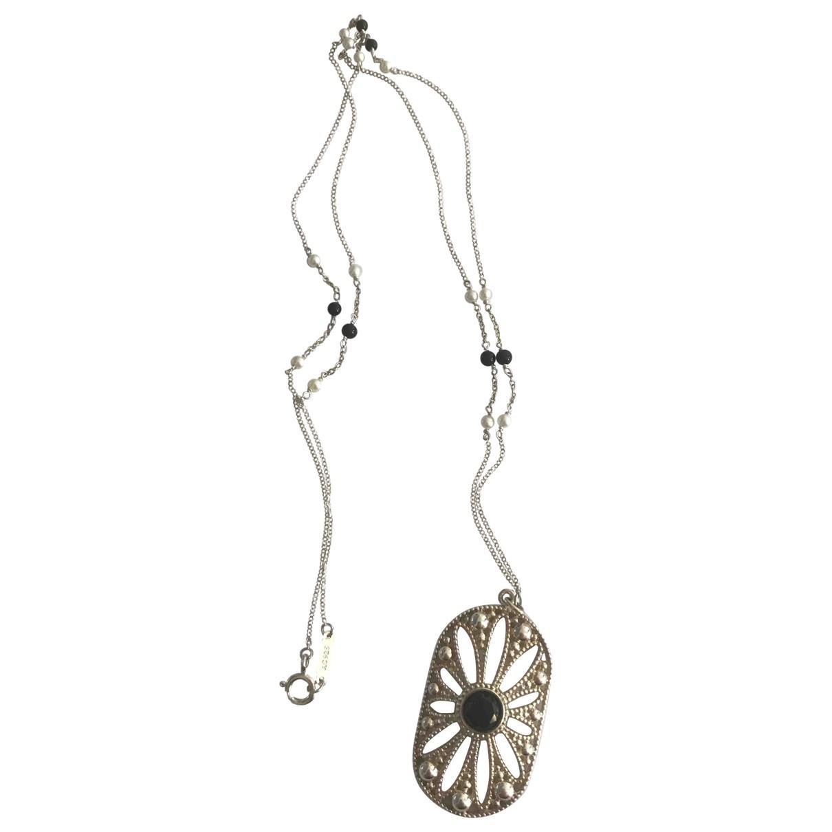 Tiffany & Co \N Halskette in  Schwarz Silber