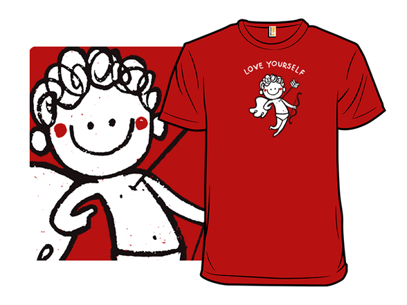 Cupid Says Love Yourself T Shirt