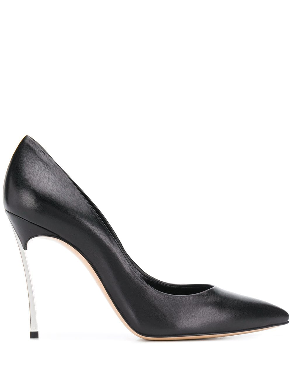 Blade Leather Pumps