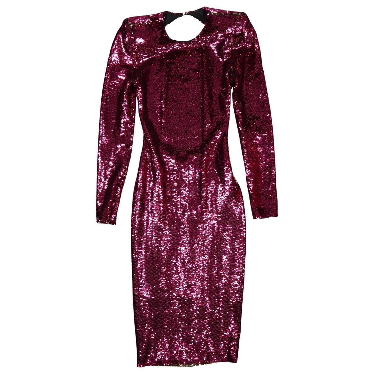 Alexandre Vauthier \N Kleid in  Rosa Polyester