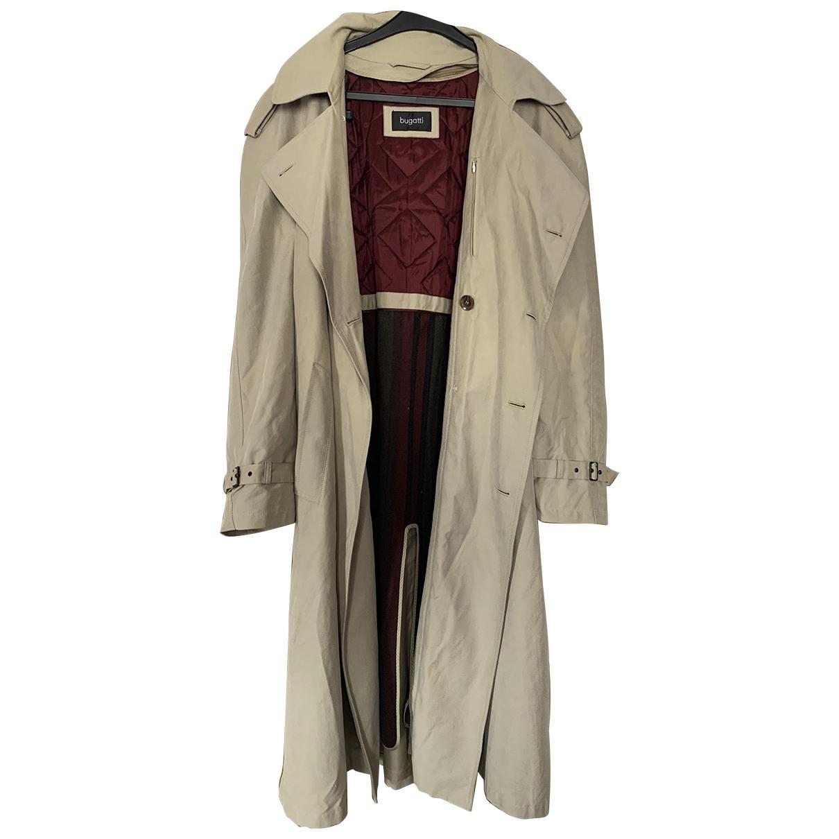 Bugatti \N Beige Cotton coat  for Men 52 FR