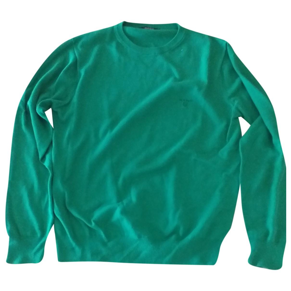 Gant \N Pullover.Westen.Sweatshirts  in  Gruen Baumwolle