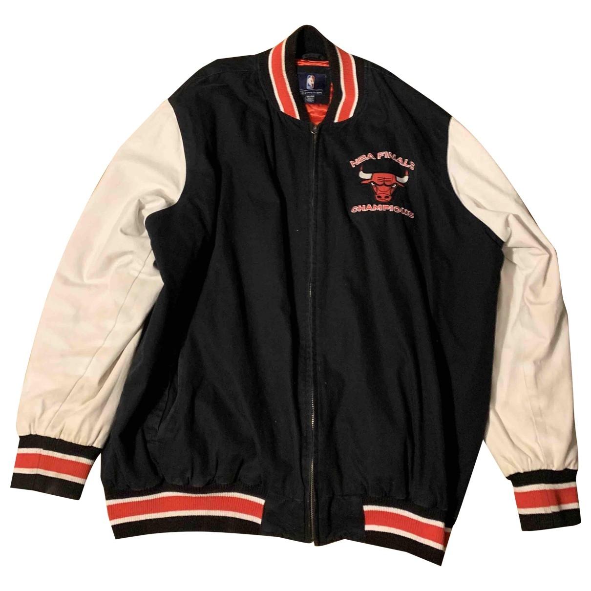 Non Signé / Unsigned Oversize Multicolour Cotton jacket  for Men XXXL International