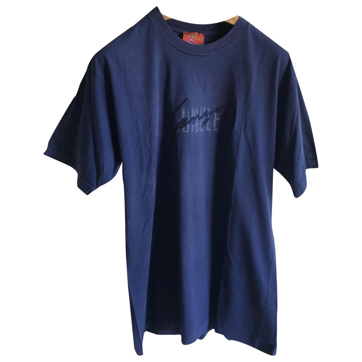 Kenzo N Blue Cotton  top for Women XL International