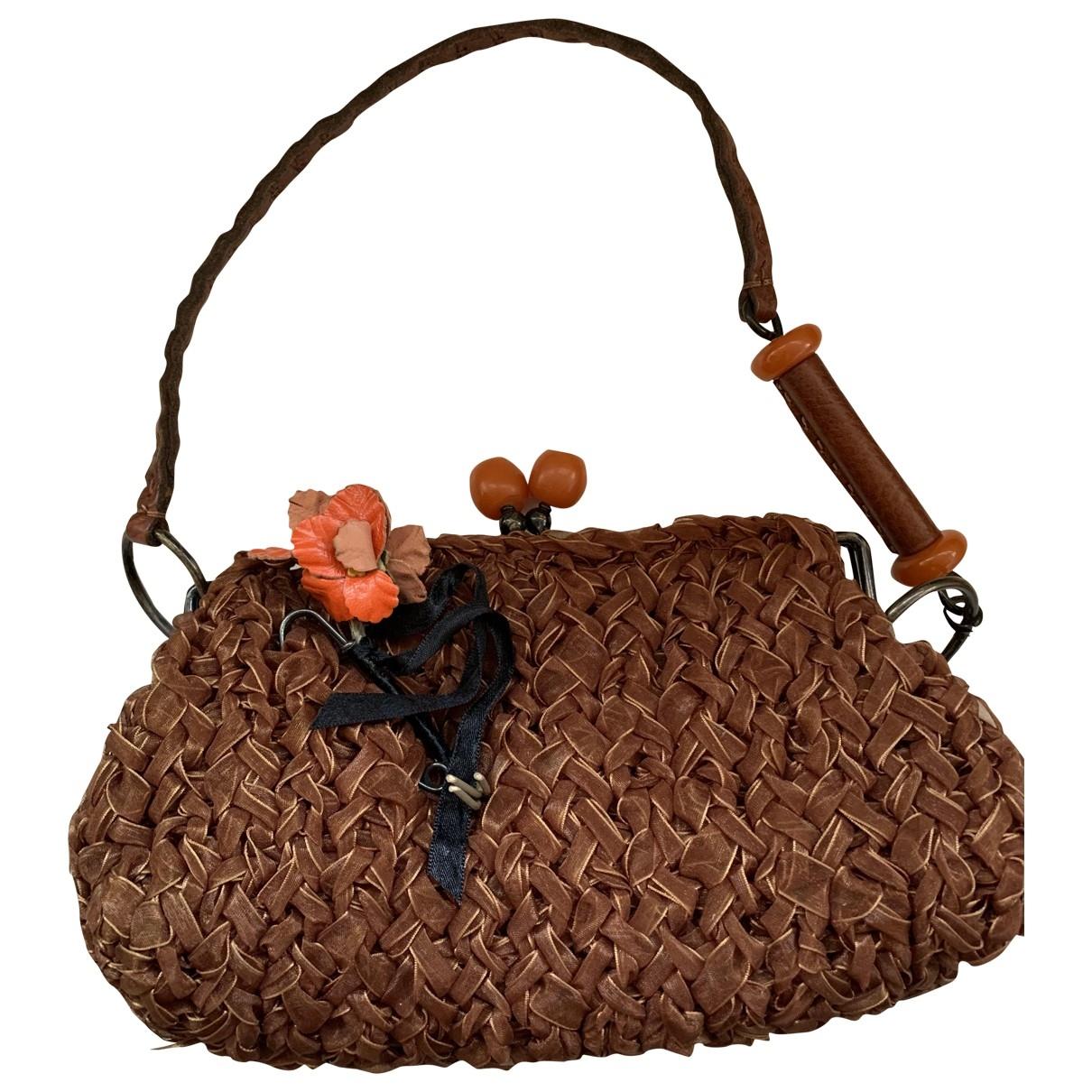 Jamin Puech \N Handtasche in  Braun Polyester