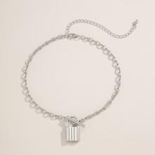 1 Stueck Halskette mit Sperren Dekor