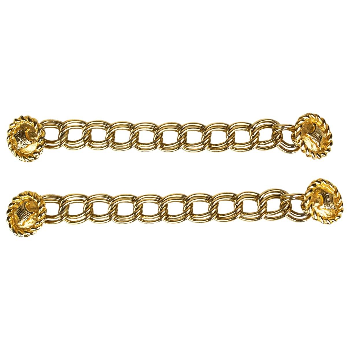 Broche en Metal Dorado Celine