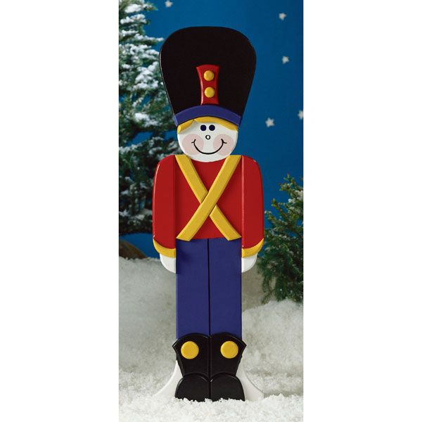 Woodworking Project Paper Plan to Build Toy Soldier