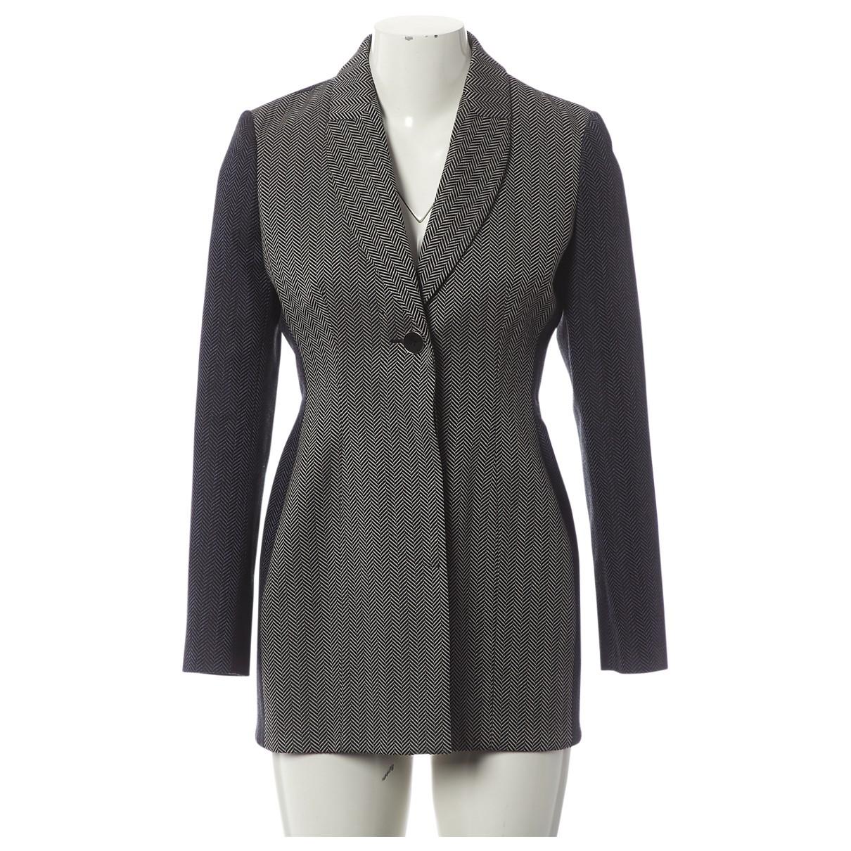 Dior \N Grey Wool jacket for Women 38 FR